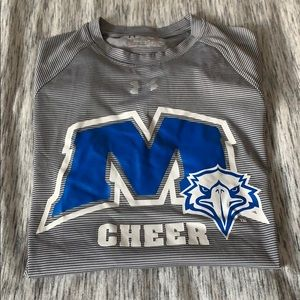 Underarmour Morehead cheer t-shirt